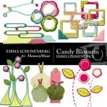 Candy Blossoms Embellishment Pack-$3.49 (Emma Schonenberg)