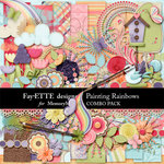 Painting Rainbows Combo-$5.99 (Ettes and Company by Fayette)
