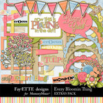 Every Bloomin Thing Extras-$3.99 (Fayette Designs)
