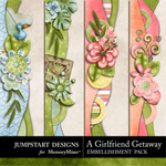 Girlfriend Getaway Borders-$2.49 (Jumpstart Designs)