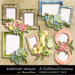 Girlfriend Getaway Clusters-$1.79 (Jumpstart Designs)
