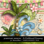 Girlfriend Getaway ADD ON Embellishment Pack 2-$2.39 (Jumpstart Designs)