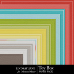 Toy Box Embossed Paper Pack-$1.99 (Lindsay Jane)