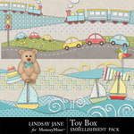 Toy Box Borders-$1.99 (Lindsay Jane)