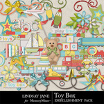 Toy Box Embellishment Pack-$3.49 (Lindsay Jane)