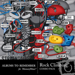 Rock Climbing Combo Pack-$2.25 (Albums to Remember)