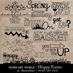 Hoppy Easter WordArt-$2.49 (Word Art World)