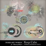 Keep Calm Splatters-$2.49 (Word Art World)