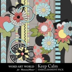 Keep Calm Borders-$2.49 (Word Art World)