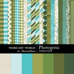 Photogenic Paper Pack-$3.99 (Word Art World)