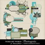 Photogenic Clusters-$2.49 (Word Art World)