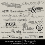 Photogenic WordArt-$2.49 (Word Art World)