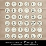 Photogenic Alpha-$0.99 (Word Art World)