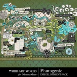 Photogenic Embellishment Pack-$3.29 (Word Art World)