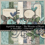 Wonder of Words Combo Pack-$5.99 (Ettes and Company by Fayette)