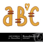 Retrofitted Fall Alphabet Pack-$1.49 (Amy Sumrall)