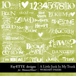 A Little Junk in My Trunk WordArt Inkers-$2.49 (Ettes and Company by Fayette)