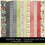 A Little Junk in My Trunk Paper Pack 1-$2.99 (Ettes and Company by Fayette)