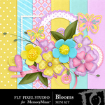Blooms Mini Pack-$3.49 (Fly Pixel Studio)