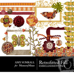 Retrofitted Fall Embellishment Pack-$3.50 (Amy Sumrall)