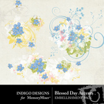 Blessed Day Accents-$1.99 (Indigo Designs)