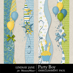 Party Boy Borders-$1.99 (Lindsay Jane)