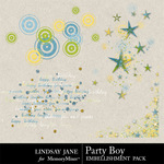 Party Boy Scatterz-$1.99 (Lindsay Jane)