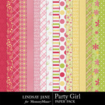 Party Girl Paper Pack-$3.49 (Lindsay Jane)