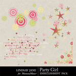 Party Girl Scatterz-$1.99 (Lindsay Jane)