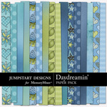 Daydreamin Paper Pack-$3.49 (Jumpstart Designs)