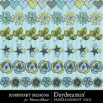 Daydreamin Trim-$2.49 (Jumpstart Designs)