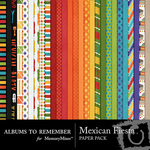 Mexican Fiesta Paper Pack-$3.99 (Albums to Remember)