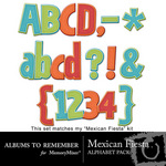 Mexican Fiesta Alpha Pack-$2.99 (Albums to Remember)