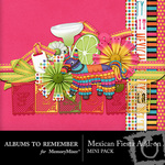Mexican Fiesta Add On Mini Pack-$1.75 (Albums to Remember)