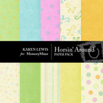 Horsin Around Paper Pack-$4.00 (Karen Lewis)