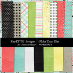 Older Than Dirt Paper Pack-$2.99 (Fayette Designs)