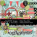 Older Than Dirt Embellishment Pack-$3.49 (Fayette Designs)