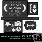 Chalk Talk Embellishment Pack-$2.99 (Albums to Remember)