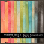 Tribals and Tribulations Paper Pack-$3.49 (Jumpstart Designs)