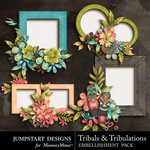 Tribals and Tribulations Clusters-$2.99 (Jumpstart Designs)