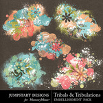 Tribals and Tribulations Scatters-$2.99 (Jumpstart Designs)