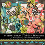 Tribals and Tribulations Add On Embellishment Pack-$3.99 (Jumpstart Designs)