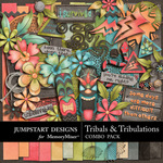 Tribals and Tribulations Combo Pack-$7.99 (Jumpstart Designs)