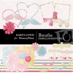 Breathe Embellishment Pack-$3.49 (Karen Lewis)