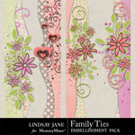 Family Ties Borders-$1.99 (Lindsay Jane)