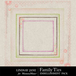 Family Ties Edges-$1.99 (Lindsay Jane)