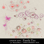 Family Ties Scatterz-$1.99 (Lindsay Jane)