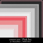 Pink Embossed Paper Pack-$1.99 (Lindsay Jane)