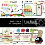 Beep Beep Embellishment Pack-$3.49 (Karen Lewis)