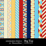 Big Top Paper Pack-$2.00 (Adorable Pixels)